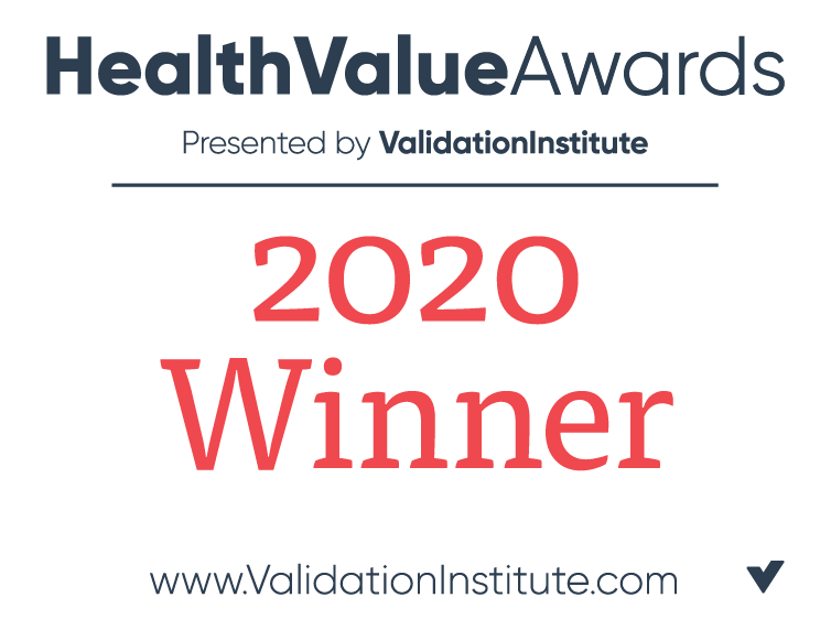 Winner of the 2020 Health Value Award
